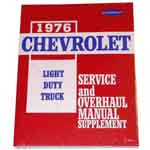 1976 Shop manual book