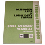 1980 Unit repair (overhaul) shop manual
