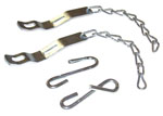 1958-1966 Tailgate chains