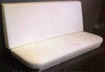 1973-1981 Bench seat back & bottom foam
