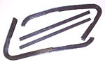1964-1966 Front wing vent rubber weather strip