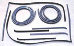 1981-1991 Door weatherstrip kit