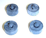 1934-1936 Side window rubber bumper stops