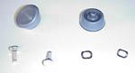1947-1994 Knobs and studs for inside window handles