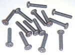 1936-1942 Screws (14 clutch head)