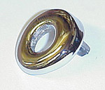1939-1946 Wiper cowl chrome bezel